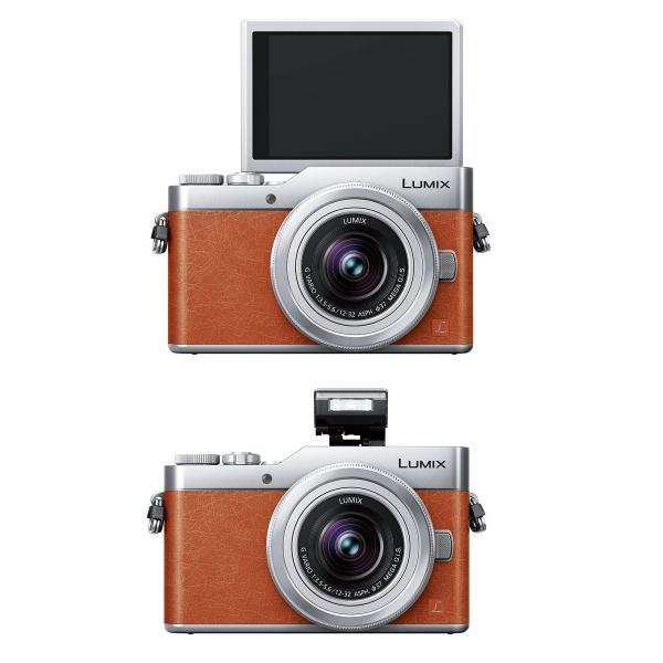 パナソニック ミラーレス一眼カメラ ルミックス GF9 ダブルズームレンズキット 標準ズームレンズ/単焦点レンズ付属 オレンジ DC-GF9W-D|break19|03