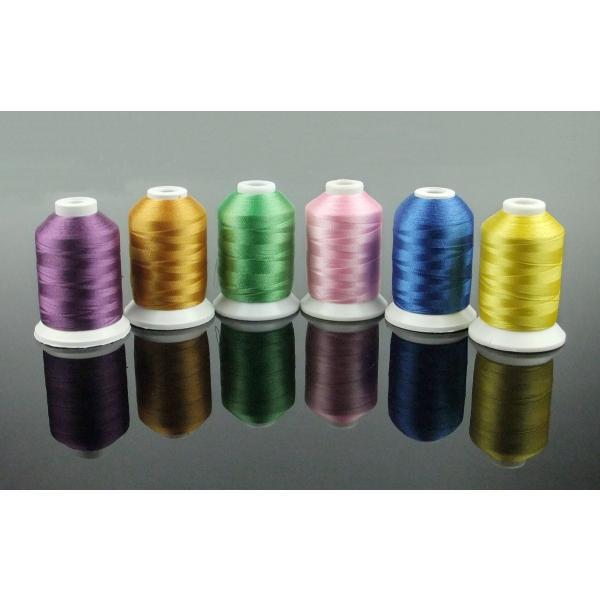 カラー糸 ミシン糸 DIY刺しゅう糸 63色/各500m 家庭ミシン刺繍糸|break19|03