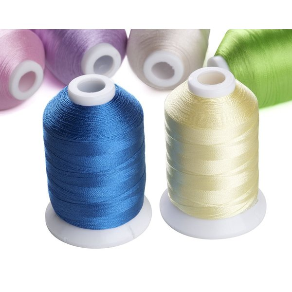 カラー糸 ミシン糸 DIY刺しゅう糸 63色/各500m 家庭ミシン刺繍糸|break19|04