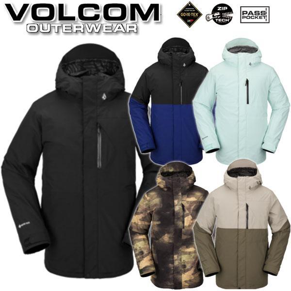 19-20 VOLCOM/ボルコム L GORE-TEX jacket メンズ スノーウェア ゴアテックス ジャケット スノーボードウェア 2020