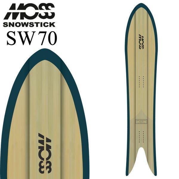 21-22 MOSS SNOWSTICK / モススノースティック 70SW スワロー メンズ パウダー 板 スノーボード 2022 予約商品