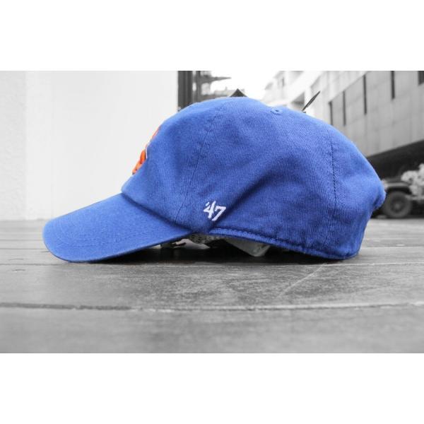 '47 ブランド ニューヨーク ニックス クリーン アップ キャップ ブルー 帽子 / '47 BRAND NEW YORK KNICKS CLEAN UP CAP [BLUE]|breaks-general-store|04