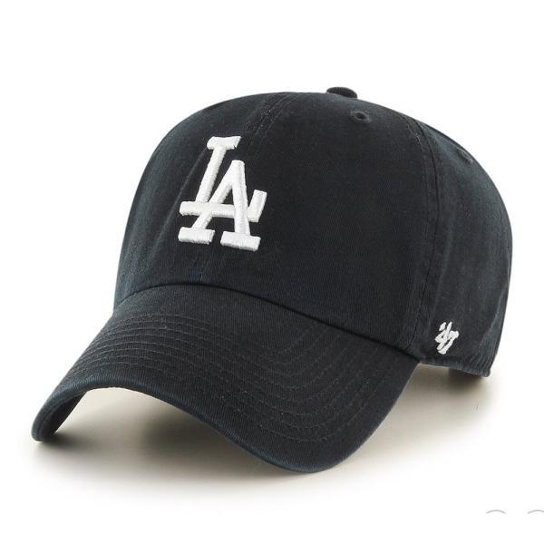 '47 ブランド ロサンゼルス ドジャース クリーン アップ キャップ ブラック / '47 BRAND LOS ANGELES DODGERS CLEAN UP CAP [BLACK]|breaks-general-store
