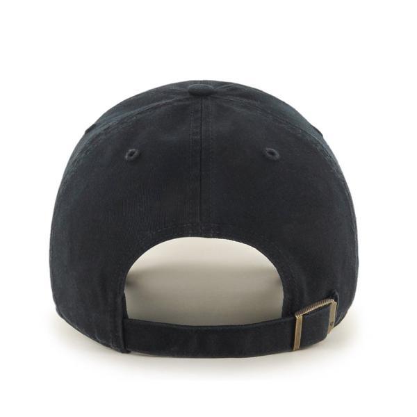'47 ブランド ロサンゼルス ドジャース クリーン アップ キャップ ブラック / '47 BRAND LOS ANGELES DODGERS CLEAN UP CAP [BLACK]|breaks-general-store|02
