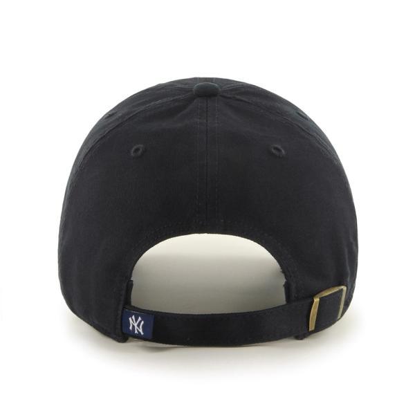 '47 ブランド ニューヨーク ヤンキース クリーン アップ キャップ ブラック / '47 BRAND NEW YORK YANKEES CLEAN UP CAP [BLACK] breaks-general-store 02