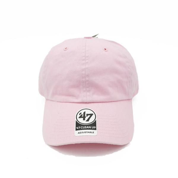 海外限定 '47 ブランド ブランク クリーン アップ キャップ 無地 ピンク / '47 BRAND BLANK CLEAN UP CAP [PINK]|breaks-general-store
