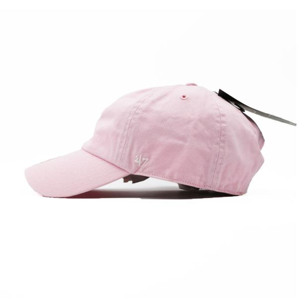 海外限定 '47 ブランド ブランク クリーン アップ キャップ 無地 ピンク / '47 BRAND BLANK CLEAN UP CAP [PINK]|breaks-general-store|04