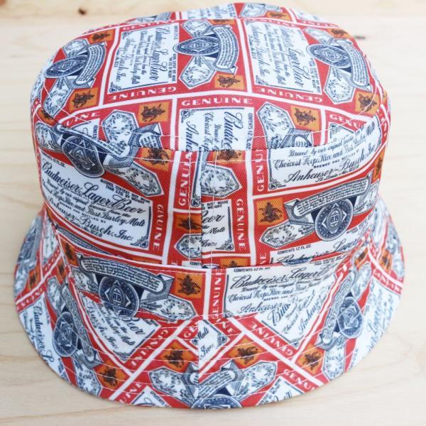 バドワイザー オフィシャル バケット ハット 帽子 / BUDWEISER OFFICIAL BUCKET HAT|breaks-general-store