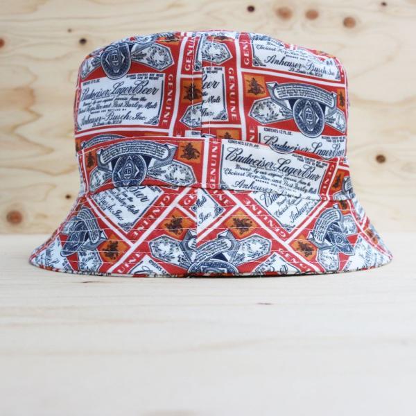 バドワイザー オフィシャル バケット ハット 帽子 / BUDWEISER OFFICIAL BUCKET HAT|breaks-general-store|02