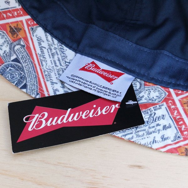 バドワイザー オフィシャル バケット ハット 帽子 / BUDWEISER OFFICIAL BUCKET HAT|breaks-general-store|03