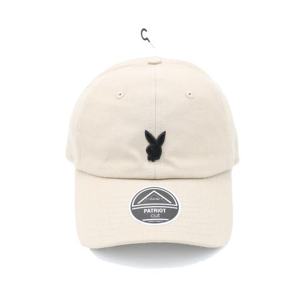 プレイボーイ メタル ピン キャップ カーキ ベージュ 帽子 / PLAYBOY METAL PIN CAP [KHAKI]|breaks-general-store
