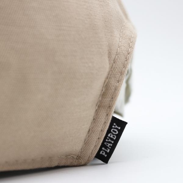プレイボーイ メタル ピン キャップ カーキ ベージュ 帽子 / PLAYBOY METAL PIN CAP [KHAKI]|breaks-general-store|05