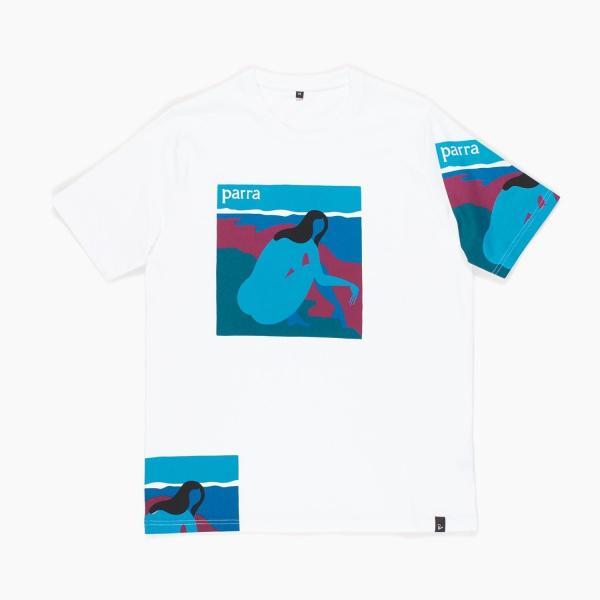 バイ パラ Tシャツ ノー ビーチ ホワイト / BY PARRA T-SHIRT NO BEACH [WHITE]|breaks-general-store