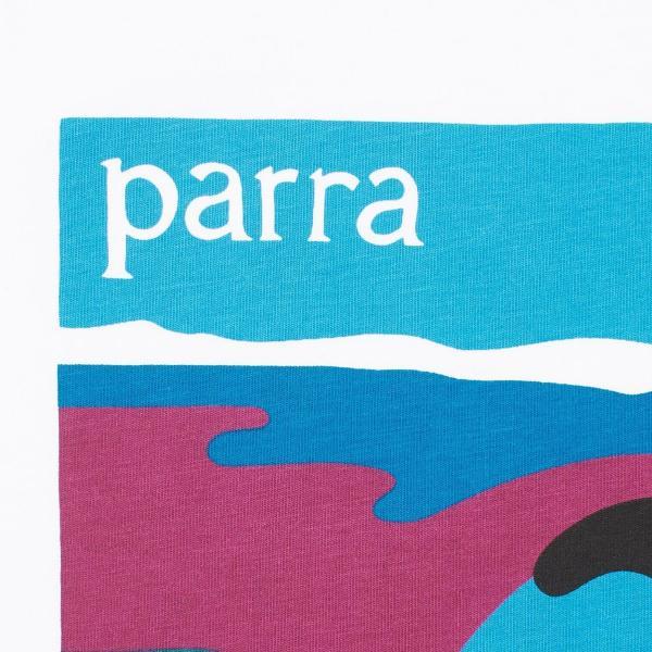 バイ パラ Tシャツ ノー ビーチ ホワイト / BY PARRA T-SHIRT NO BEACH [WHITE]|breaks-general-store|02