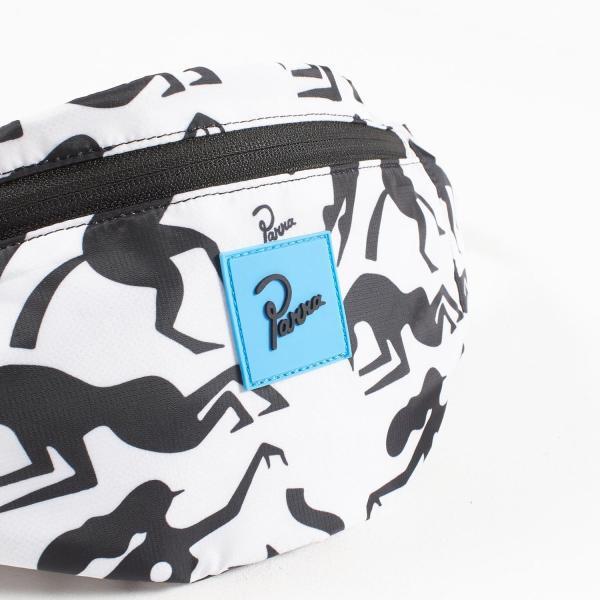 バイ パラ ウエストパック ワークアウト ウーマン ホース ホワイト バッグ / BY PARRA WAIST PACK WORKOUT WOMAN HORSE [WHITE]|breaks-general-store|04