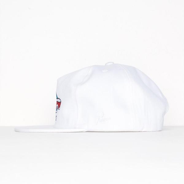 バイ パラ 5パネル キャップ ゲーリー ピンク  / BY PARRA 5 PANEL HAT GARY [WHITE]|breaks-general-store|03