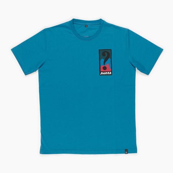 バイ パラ Tシャツ インディ タック ニー スレート ブルー / BY PARRA T-SHIRT INDY TUCK KNEE [SLATE BLUE]|breaks-general-store|02