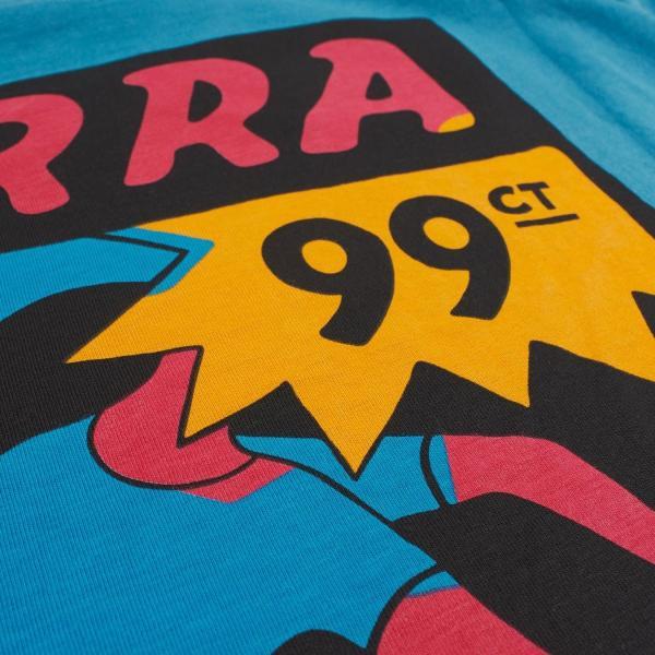 バイ パラ Tシャツ インディ タック ニー スレート ブルー / BY PARRA T-SHIRT INDY TUCK KNEE [SLATE BLUE]|breaks-general-store|04