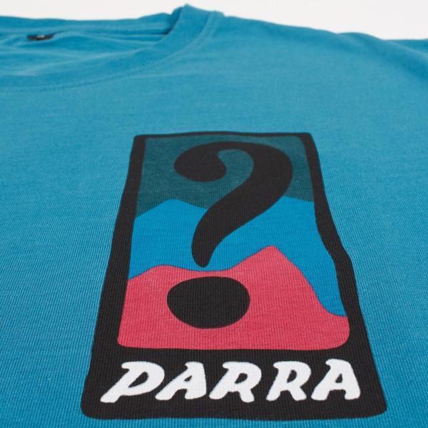 バイ パラ Tシャツ インディ タック ニー スレート ブルー / BY PARRA T-SHIRT INDY TUCK KNEE [SLATE BLUE]|breaks-general-store|05