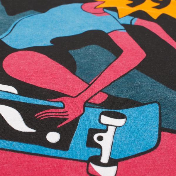 バイ パラ Tシャツ インディ タック ニー アッシュ グレー / BY PARRA T-SHIRT INDY TUCK KNEE [ASH GREY]|breaks-general-store|03
