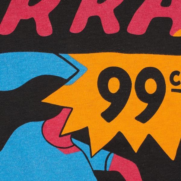 バイ パラ Tシャツ インディ タック ニー アッシュ グレー / BY PARRA T-SHIRT INDY TUCK KNEE [ASH GREY]|breaks-general-store|04