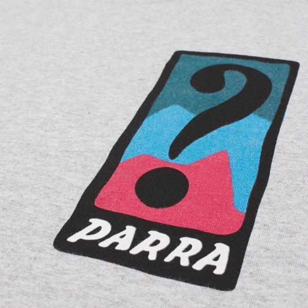 バイ パラ Tシャツ インディ タック ニー アッシュ グレー / BY PARRA T-SHIRT INDY TUCK KNEE [ASH GREY]|breaks-general-store|05