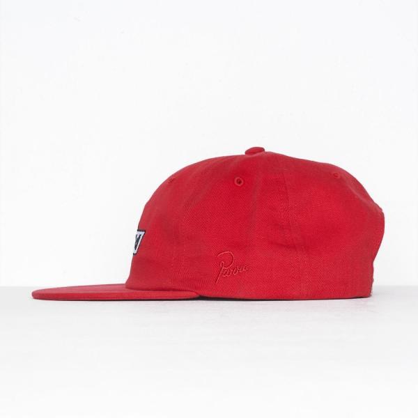 バイ パラ 6 パネル キャップ ノット レーシング レッド  / BY PARRA 6 PANEL HAT NOT RACING [RED]|breaks-general-store|03