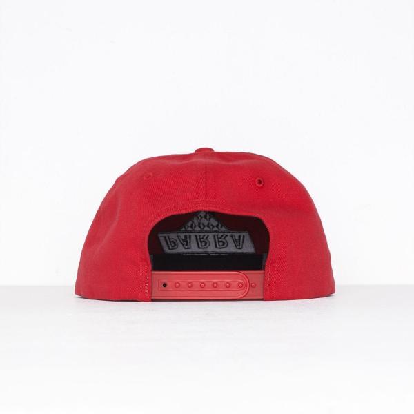 バイ パラ 6 パネル キャップ ノット レーシング レッド  / BY PARRA 6 PANEL HAT NOT RACING [RED]|breaks-general-store|04