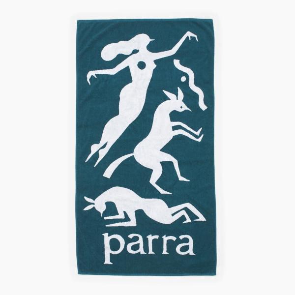 バイ パラ ビーチタオル ワークアウト ウーマン ホース マレードグリーン  / BY PARRA BEACH TOWEL WORKOUT WOMAN HORSE [MALLARD GREEN]|breaks-general-store