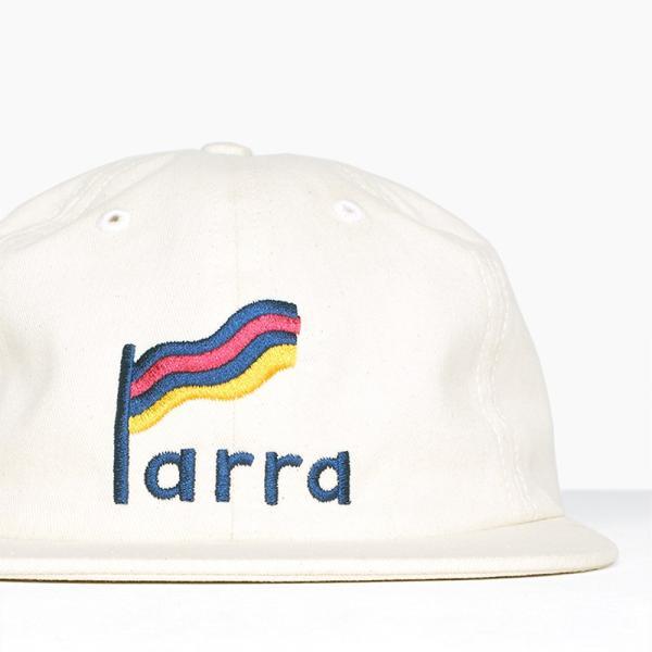 バイ パラ ストライプド フラッグ 6 パネル ハット キャップ ナチュラル / BY PARRA STRIPED FLAG 6 PANEL HAT [NATURAL]|breaks-general-store|02