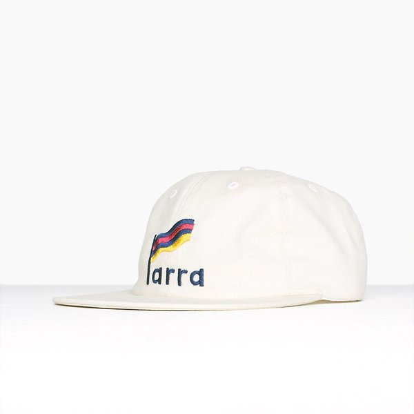 バイ パラ ストライプド フラッグ 6 パネル ハット キャップ ナチュラル / BY PARRA STRIPED FLAG 6 PANEL HAT [NATURAL]|breaks-general-store|03