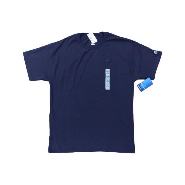US企画 チャンピオン ベーシック Tシャツ ネイビー / CHAMPION BASIC TEE [NAVY]|breaks-general-store