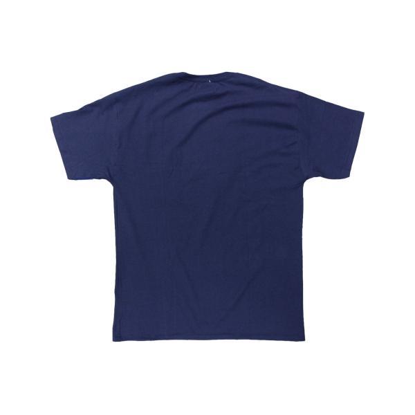 US企画 チャンピオン ベーシック Tシャツ ネイビー / CHAMPION BASIC TEE [NAVY]|breaks-general-store|02