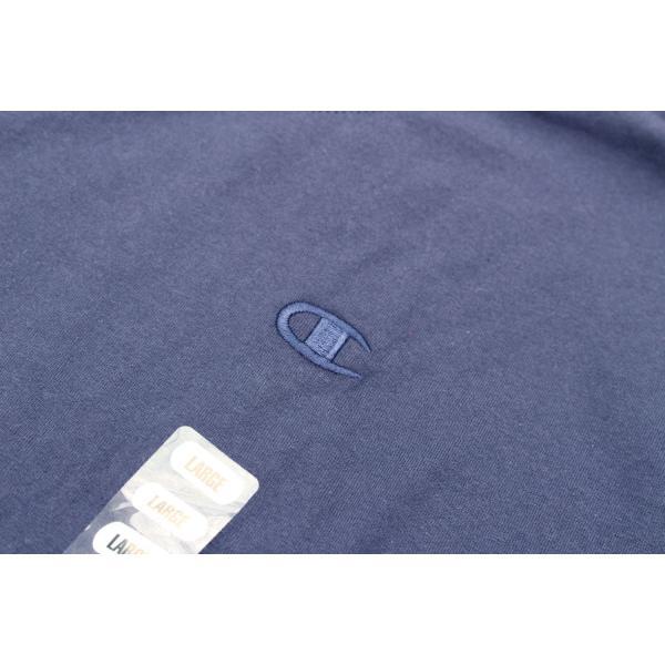 US企画 チャンピオン ベーシック Tシャツ ネイビー / CHAMPION BASIC TEE [NAVY]|breaks-general-store|03