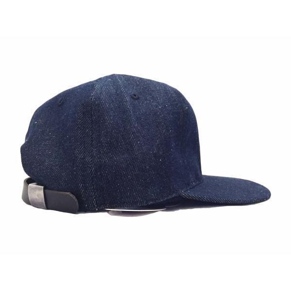 エベッツフィールド フランネルズ X ブレイクス シガー デニム ベースボール キャップ 別注 / EBBETS FIELD FLANNELS X BREAKS CIGAR DENIM BASEBALL BB CAP|breaks-general-store|04