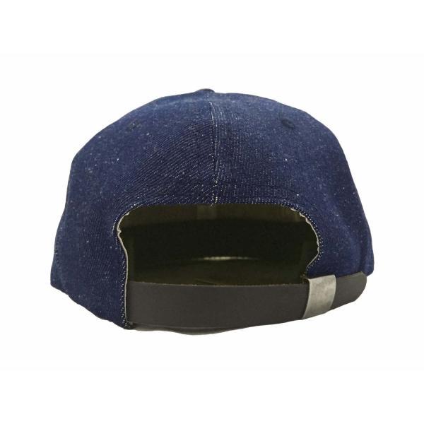 エベッツフィールド フランネルズ X ブレイクス シガー デニム ベースボール キャップ 別注 / EBBETS FIELD FLANNELS X BREAKS CIGAR DENIM BASEBALL BB CAP|breaks-general-store|05