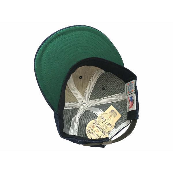 エベッツフィールド フランネルズ X ブレイクス シガー デニム ベースボール キャップ 別注 / EBBETS FIELD FLANNELS X BREAKS CIGAR DENIM BASEBALL BB CAP|breaks-general-store|06