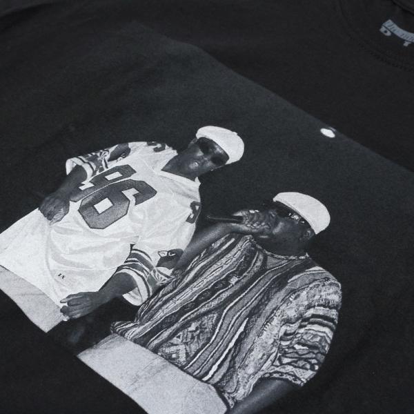 ノートリアス B.I.G. & P.ディディー Tシャツ ブラック / NOTORIOUS B.I.G. & P. DIDDY S/S TEE [BLACK] breaks-general-store 02