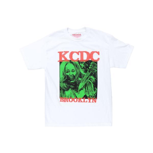 KCDC スケートショップ X バワリー リミテッド Tシャツ ホワイト / KCDC SKATESHOP X BOW3RY LIMITED TEE [WHITE]|breaks-general-store