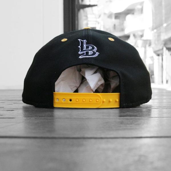 ミスター カートゥーン ニューエラ ロングビーチ スナップバック キャップ ブラック 帽子 / MISTER MR CARTOON X NEW ERA X LONG BEACH SNAPBACK CAP [BLACK]|breaks-general-store|04