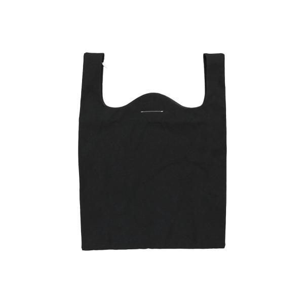 MM6 メゾン マルタン マルジェラ 20周年 ショッピング トートバッグ ブラック / MM6 MAISON MARTIN MARGIELA 20TH ANNIVERSARY SHOPPING TOTE BAG [BLACK]|breaks-general-store|02