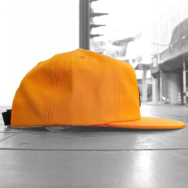 ステューシー ストック ロゴ ストラップバック キャップ オレンジ 帽子 / STUSSY STOCK LOGO STRAPBACK CAP [ORANGE]|breaks-general-store|02