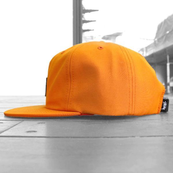ステューシー ストック ロゴ ストラップバック キャップ オレンジ 帽子 / STUSSY STOCK LOGO STRAPBACK CAP [ORANGE]|breaks-general-store|04