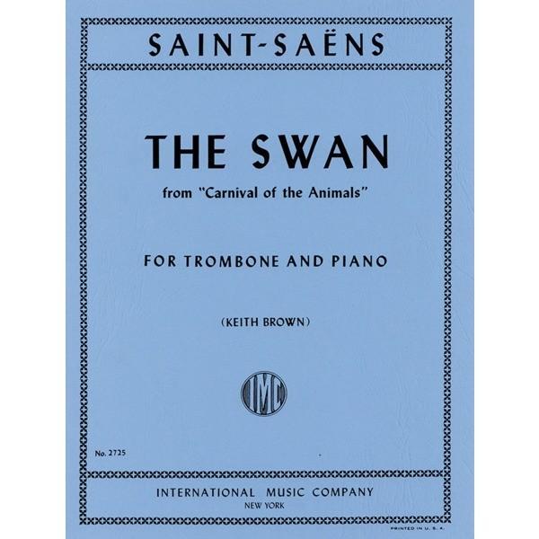 輸入楽譜/トロンボーン/サン=サーンス:「動物の謝肉祭」より 白鳥