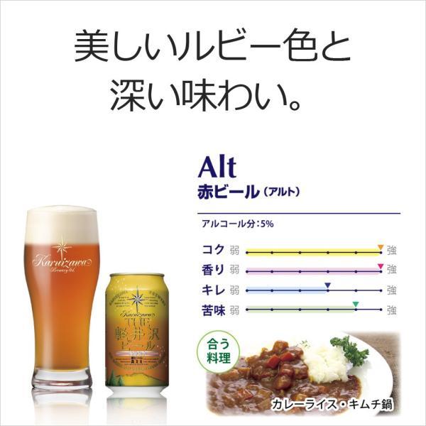 【送料無料】ビール 地ビール クラフトビール セット 詰め合わせ 飲み比べ ギフト 3缶セット THE軽井沢ビール ヴァイス・アルト・プレミアムエール brewery 02