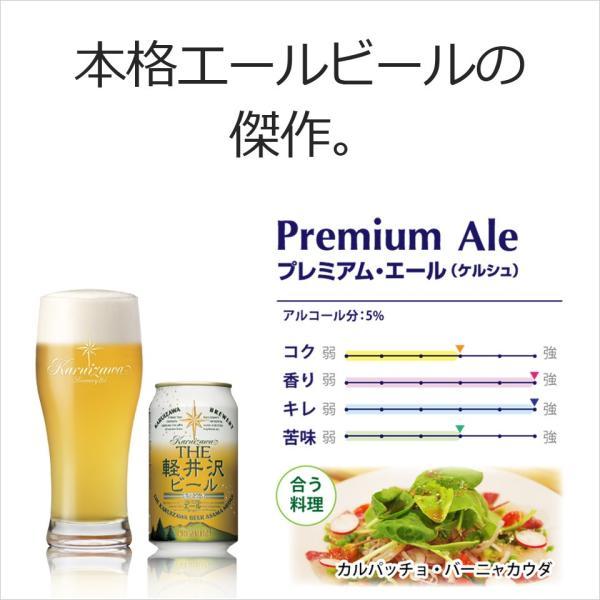 【送料無料】ビール 地ビール クラフトビール セット 詰め合わせ 飲み比べ ギフト 3缶セット THE軽井沢ビール ヴァイス・アルト・プレミアムエール brewery 03