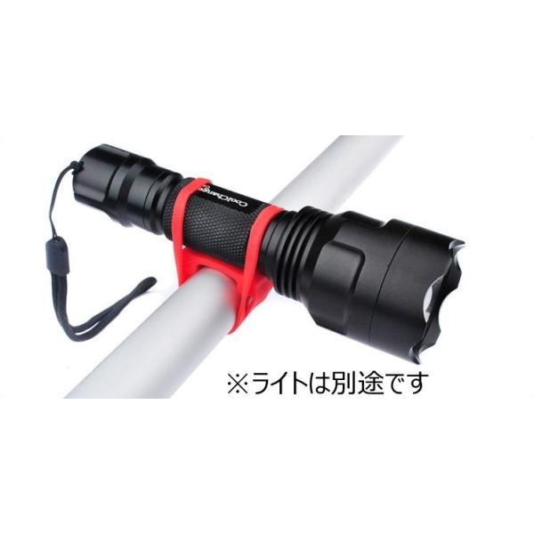 高弾性シリコン マルチバンド マルチホルダー ライト固定 自転車 6色 |brezza01