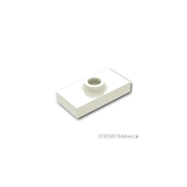 レゴパーツばら売りタイル1x2-センタースタッド:ホワイト|lego部品