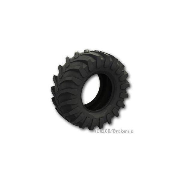 レゴパーツばら売りタイヤ107x44Rトラクター:ブラック|lego部品