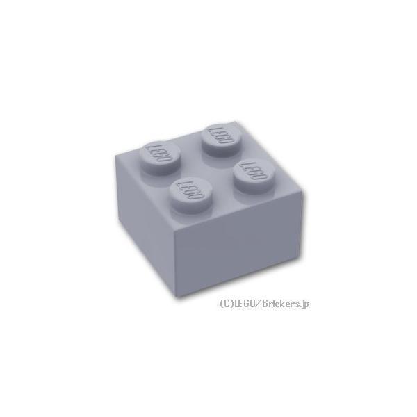 レゴパーツばら売りブロック2x2:グレー|lego部品